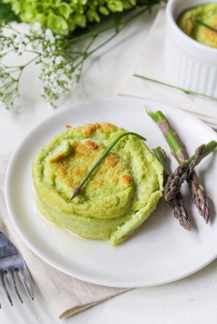 Cauliflower and Goat Cheese Soufflés | Cauliflower Recipes ...