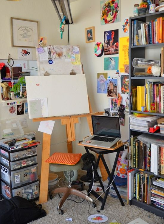 Atelier de pintura.