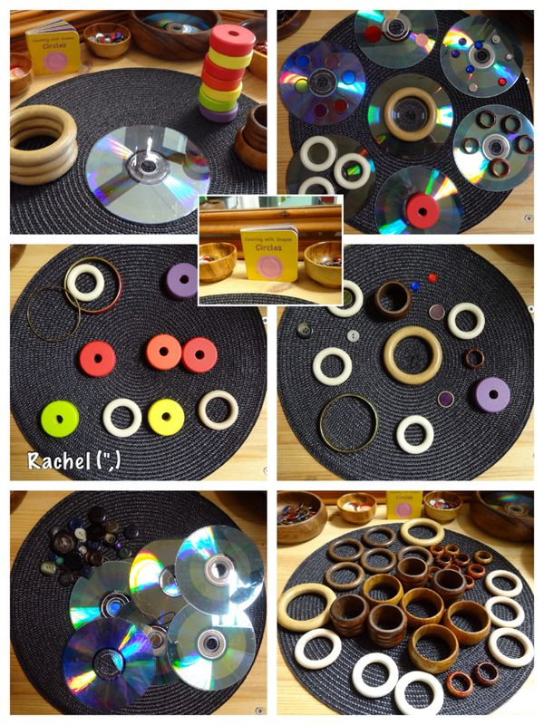 "Exploring circular shapes - from Rachel ("",)"