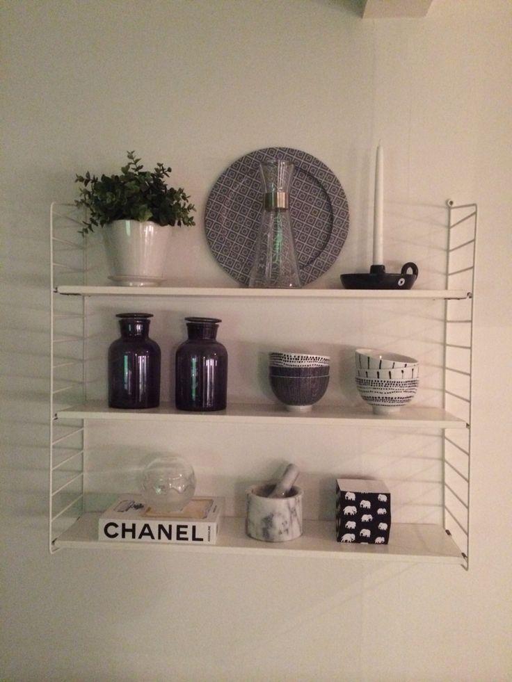 Stringhylla Chanel Svenskt tenn Marmor
