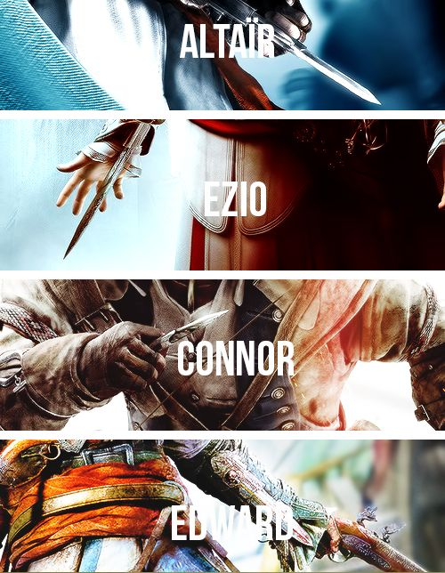The Four Great Assassins