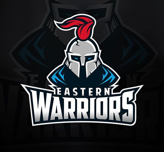 Eastern Warriors by Dmitry Krino - 60 Incredible Spartan Logo Designs for Inspiration | iBrandStudio