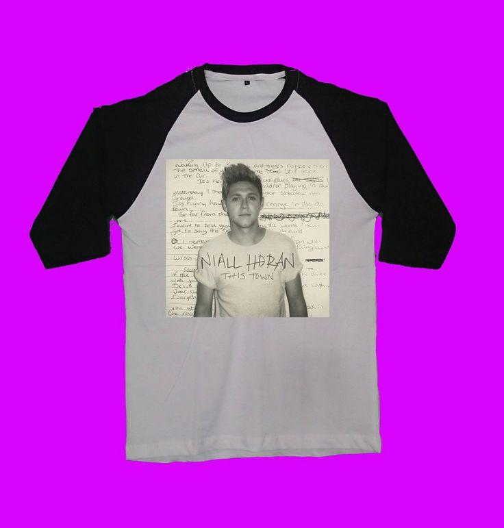 niall horan this town shirt tshirt clothing cover album unisex baseball raglan  #unbranded #raglanbaseball
