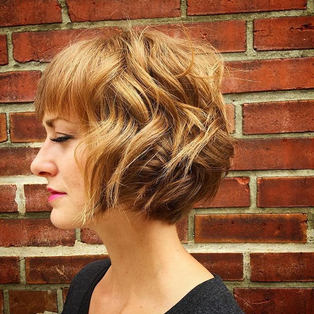 30 Chic Bob Hairstyles with Bangs