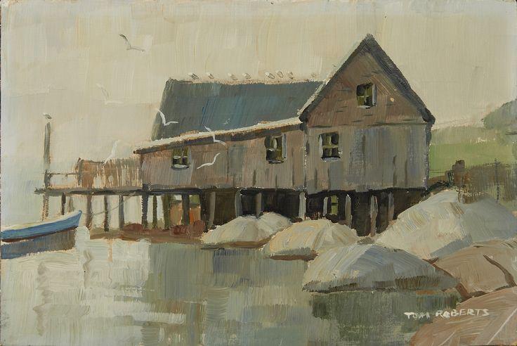 Tom Roberts; Indian Harbour