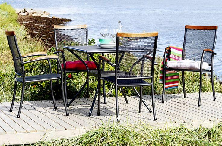 Jutlandia Aluminiu este mobila de grădină care nu necesită îngrijire, este impermeabilă și poate fi lăsată în aer liber pe toată perioada anului.  | JYSK
