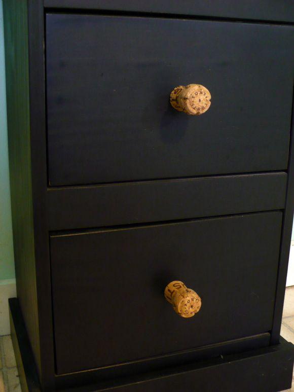 Cork Screw Drawer Knobs