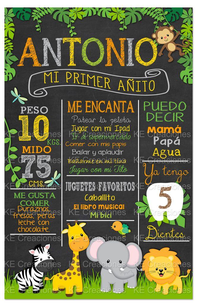 Pizarra Para Cumpleaños Pizarron Vintage Cartel Banner - $ 285.00