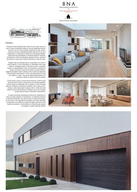 Locuinţă individuală – Casa K. - Bienala Naţională de Arhitectură 2014