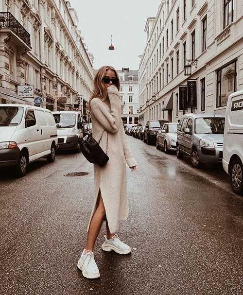 Vestidos punto invierno 2019