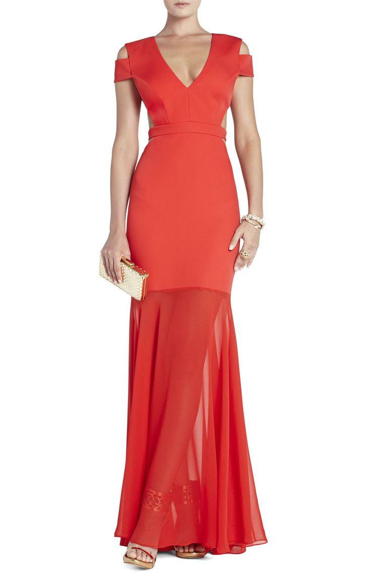 Ava Cutout Gown BCBG Max Azria