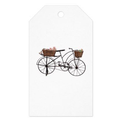 Antique bicycle gift tags - antique gifts stylish cool diy custom