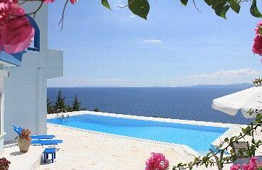 Semesterbostäder och villa Marathon, Grekland | 5 sovrum, 12 sovplatser - Villa Stella, pool, vid stranden, nära Aten