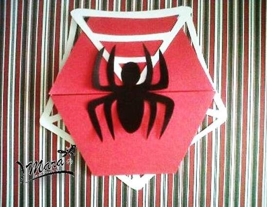 INVITACION SPIDERMAN  HOMBRE ARA�A cakepins.com