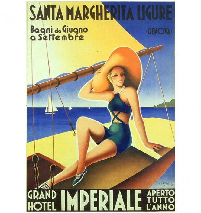 Santa Margherita Ligure: etichette da valigia e poesia | Italian Ways