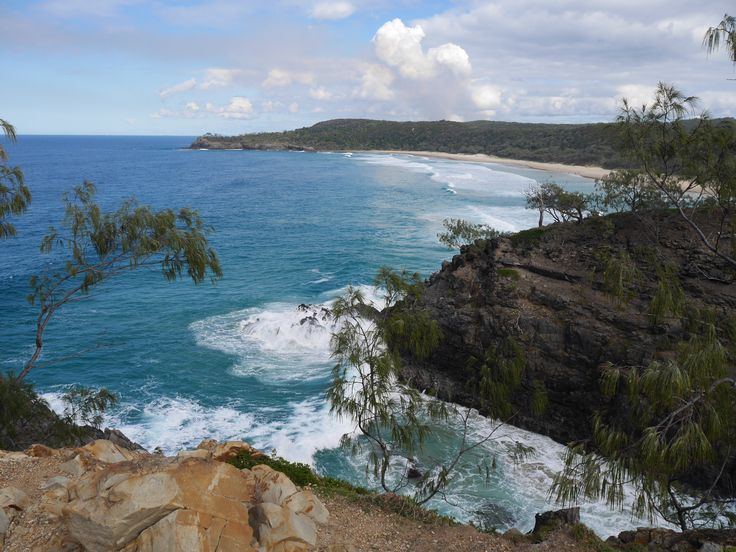The view from Hells gate in Noosa National Park