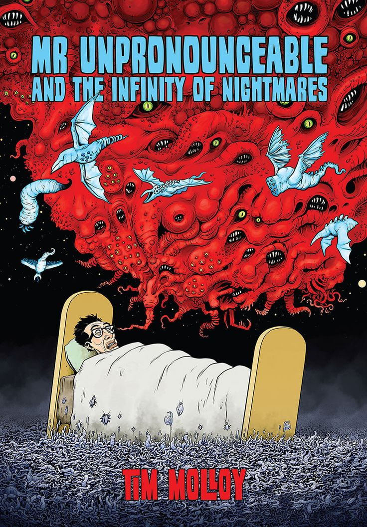 Tim Molloy - Pre-order Mr Unpronouncable and the Infinity of Nightmares book