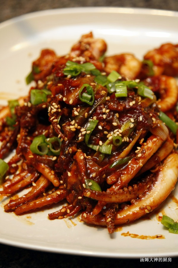 squid Teppanyaki - gonna have to try this at some point