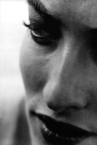 Peter Lindbergh, Tatjana Patitz. 1990