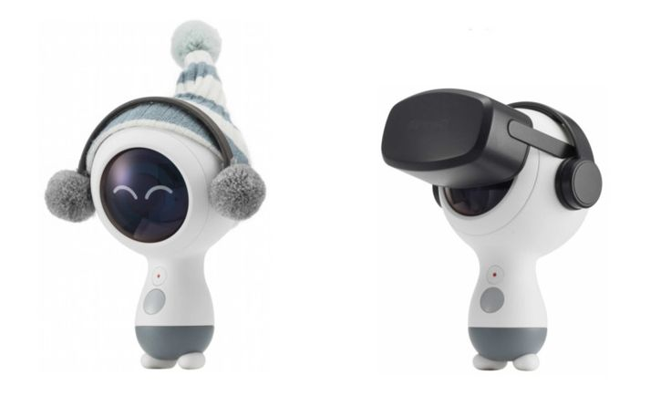 Samsung Gear 360 (2018) design revealed in recent patent application?