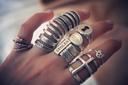 I want all of these. Especially the joint one on the ring finger!!