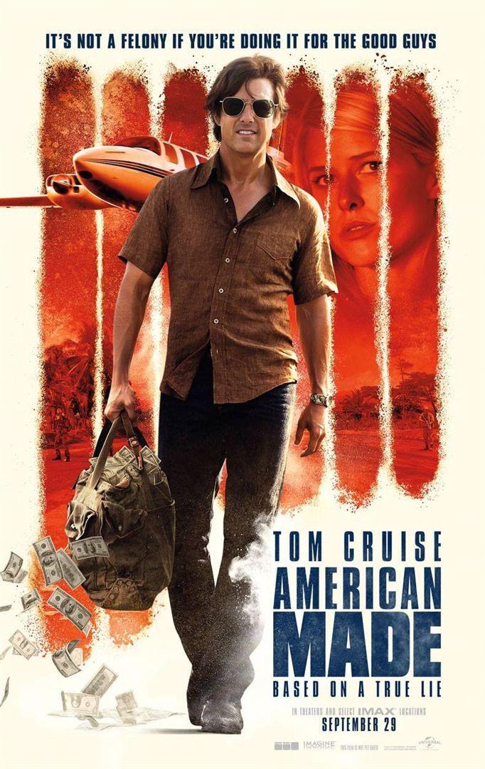 Derrière ce titre français…difficile se cache American Made (anciennement Mena) deuxième collaboration entre Tom Cruise et Doug Liman aprèsEdge of Tomorrow basée sur l'histoire vraie …Bande-Annonce pour BARRY SEAL – AMERICAN TRAFFIC (Actus) par Patrice Steibel