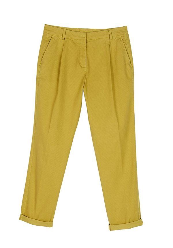 QL2 - MAN STRETCH COTTON PINCES PANT  ( Sometimes I'm happy) #women's #fashion