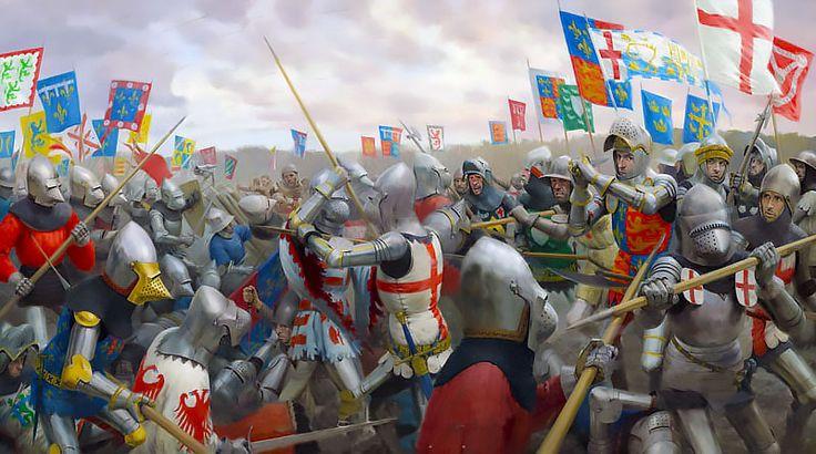 """The Battle of Agincourt"""