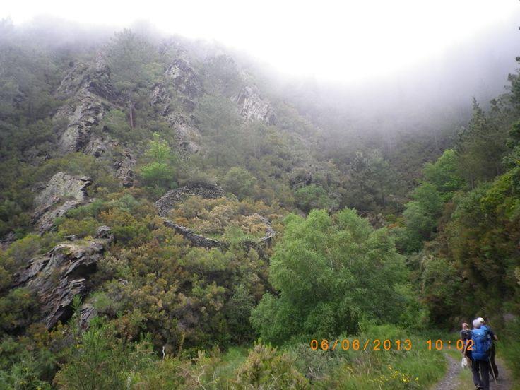 6th Etappe to Grandas de Salime Camino Primitivo 2013