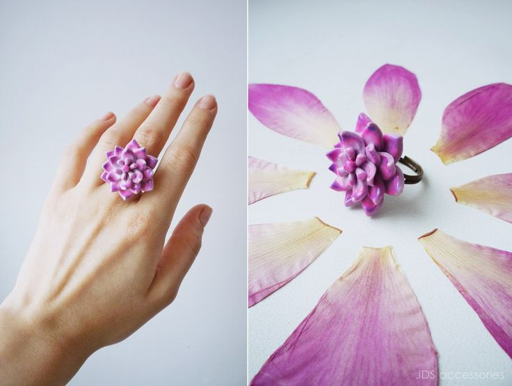 JDS Accessories by Natasha Kolesova 💗SUCCULENT RING💗 Polymer clay, handicraft Limited edition Buy now http://vk.com/market-20101066 #JDS #JDSaccessories #jdsfashion #accessories #handmade #handicraft #limitededition #designerjewelry #NatashaKolesova #succulent #ring #polimerclay #fashiondetails #fashionart #popculture #nizhnynovgorod #ательеjds #украшения #бижутерия #аксессуары #ручнаяработа #дизайнерскиеукрашения #суккулент #кольцо #полимернаяглина #НаташаКолесова #мода #детали #искусство