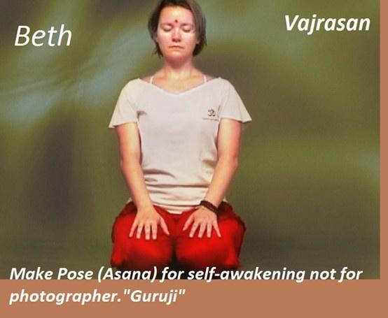 Vajrasan Visit @ http://paramyoga.org for more yoga learning