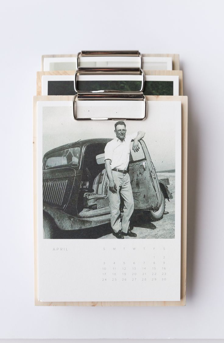 Wood Calendar / Artifact Uprising