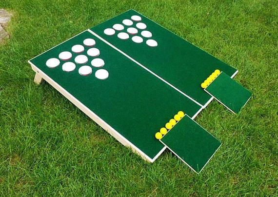 Golf hole BEER PONG - Lawn GAME. Get it before summer! Great for BBQs, parties, weddings, cookouts, reunions, the beach, & birthdays.