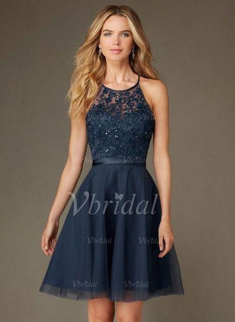 Prom dress knee length