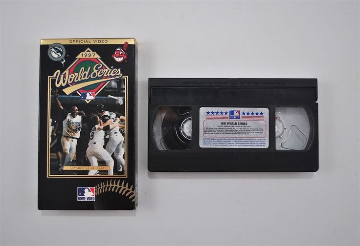 The Official 1997 World Series Video VHS October 1997 Home Video #HomeVideo