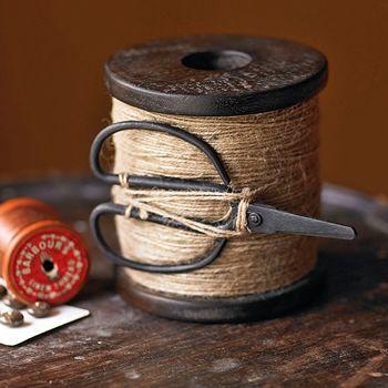 Jute: Vintage Sewing Thread, Vintage Irons, Sewing Antiques, Twine Spools, Scissors, Diy Gifts, Sewing Rooms, Twine Holders, Vintage Spools