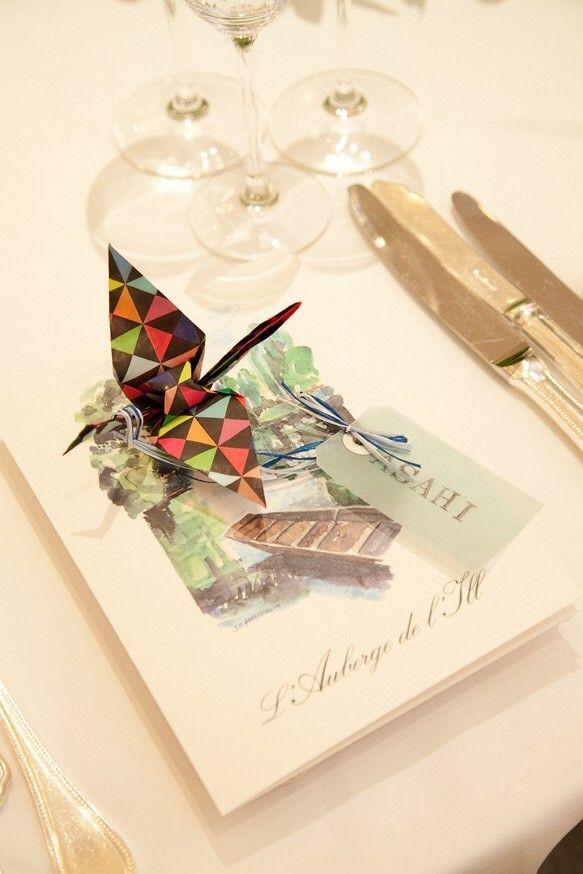 ゲストの方をご案内するために舞い降りた鳥…下にお手紙を添えれば、お手紙を届けに来た鳥の配達屋さんに…そんなイメージで結婚式の席札を...|ハンドメイド、手作り、手仕事品の通販・販売・購入ならCreema。