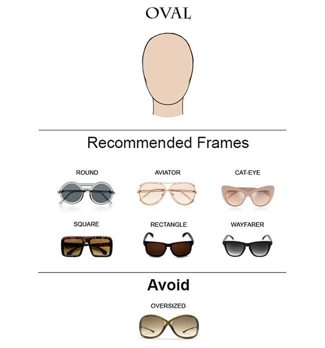 Glass Frames for Oval Face Shape  #glasses #sunglasses #eyeglasses