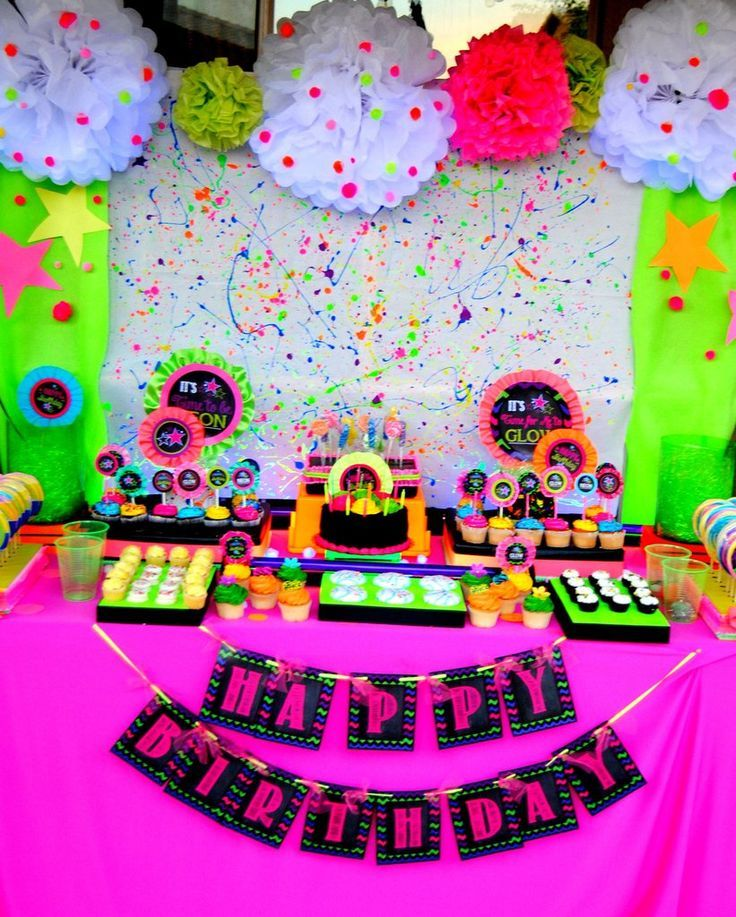 25+ Best Ideas About Glow Party On Pinterest