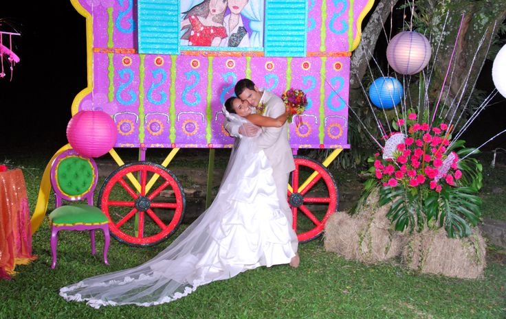 carroza gitana matrimonio