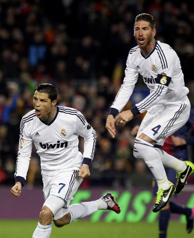 Ronaldo, Ramos - 20130226-Copa del Rey-Barcelona vs. RMA