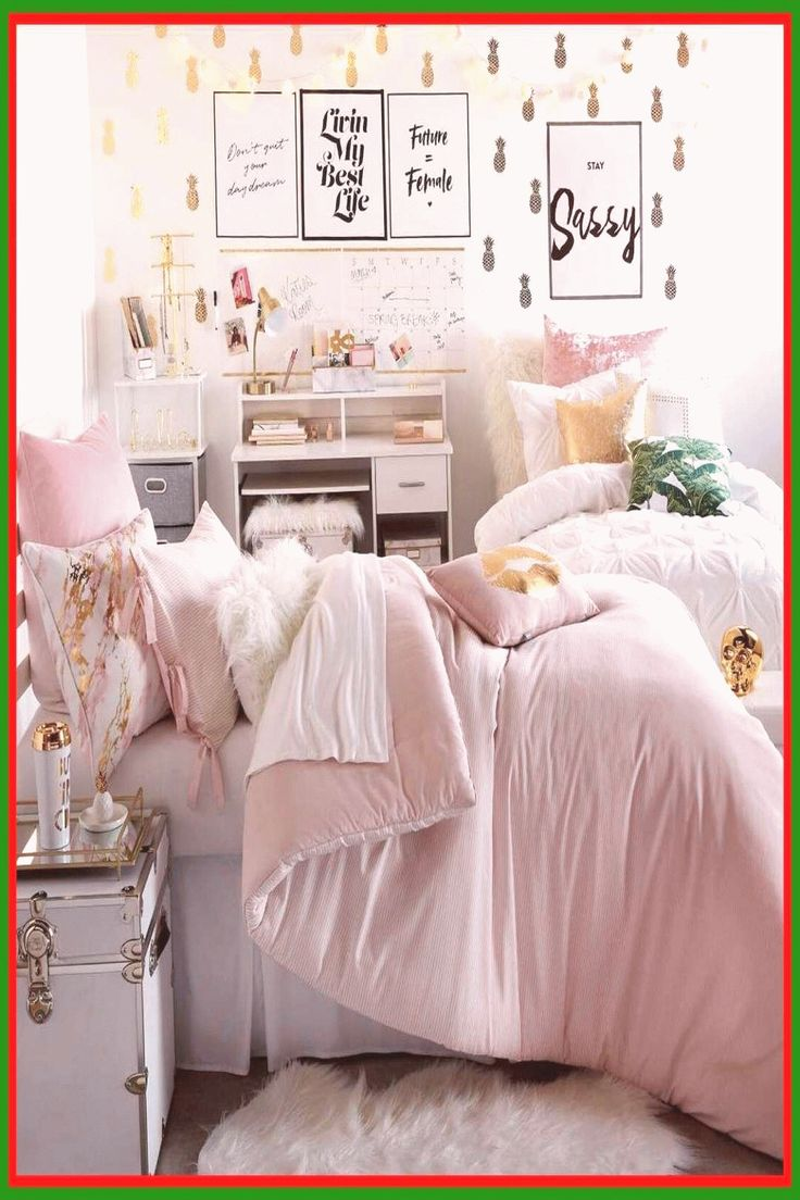 105 reference of Dorm Room Ideas pink Organization ... on Bedroom Reference  id=93628
