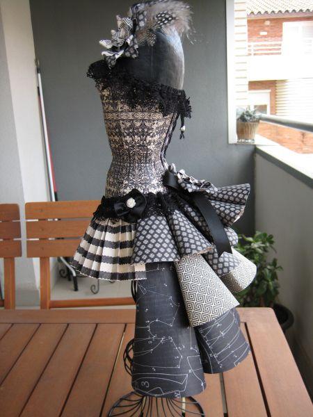 1000 images about dress of paper n stuff on pinterest. Black Bedroom Furniture Sets. Home Design Ideas