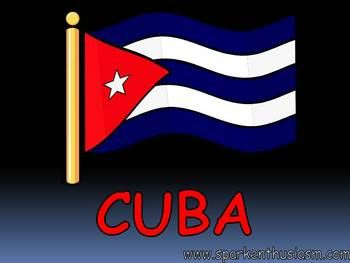 This 23 slide Cuba Power Point Show includes many beautiful photos along with up-to-date information about major cities, music, foods, dances, geography, and much more!  This Cuba Power Point includes a variety of music and sounds and is sure to motivate your students to want to learn more about the Spanish-speaking countries.