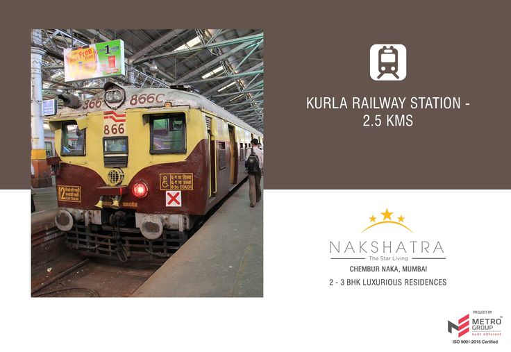 Nakshatra - The Star Living 2 & 3 BHK in the heart of Chembur Kurla Railway Station - 2.5 Kms www.metrogroupindia.com #Nakshatra #RealEstate #MetroGroup #Chembur #Mumbai
