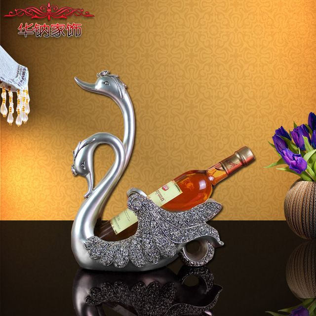 Real Modern Decor Home Furnishing Lovers Wedding Gift Ornaments Swan Wine Rack Practical Living Room Cabinet Decoration https://www.aliexpress.com/store/product/Modern-decor-Home-Furnishing-lovers-wedding-gift-ornaments-Swan-wine-rack-practical-living-room-cabinet-decoration/219022_32737271026.html