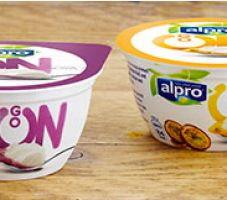 You can try at the new Alpro Go On yogurt for free courtesy of Sainsbury's today. There are 4 simple steps in getting your yogurt alternatives, which come packed with real fruit and plant protein.