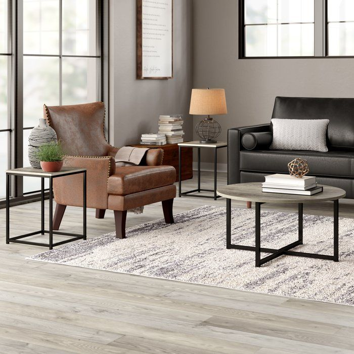 Kleinschmidt 3 Piece Coffee Table Set Living Room Table Sets 3