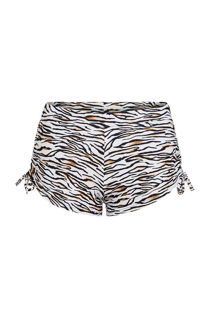 Tiger Printed Shorts – Dharma Bums Yoga and Activewear