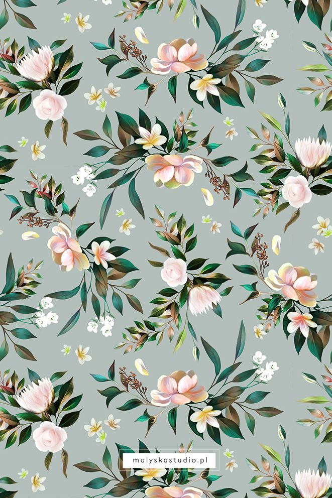 Beautiful Delicate Seamless Floral Pattern Wallpaper Design Pattern Floral Pattern Wallpaper Vintage Floral Wallpapers